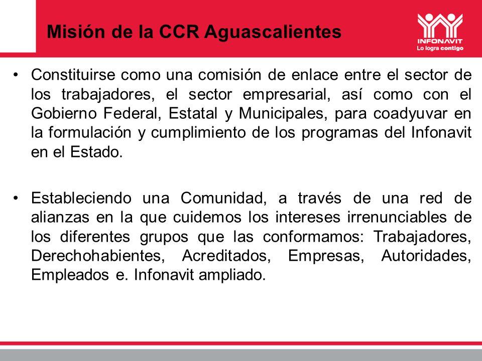 Misión de la CCR Aguascalientes