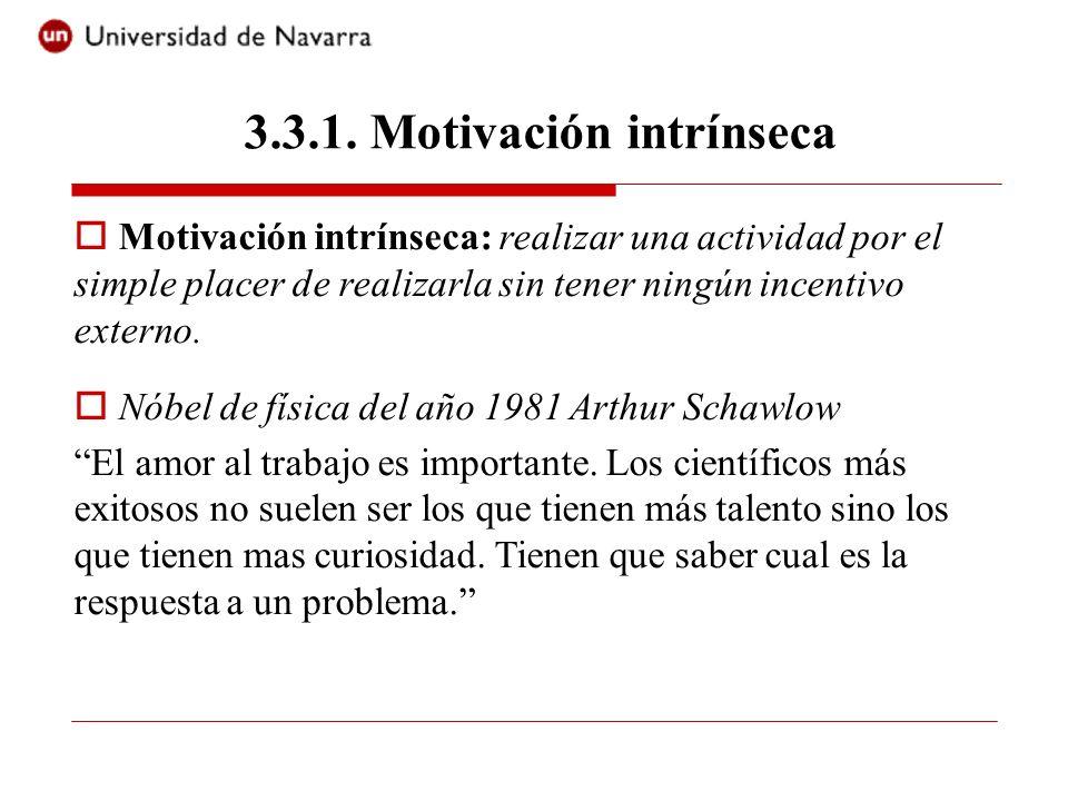 3.3.1. Motivación intrínseca