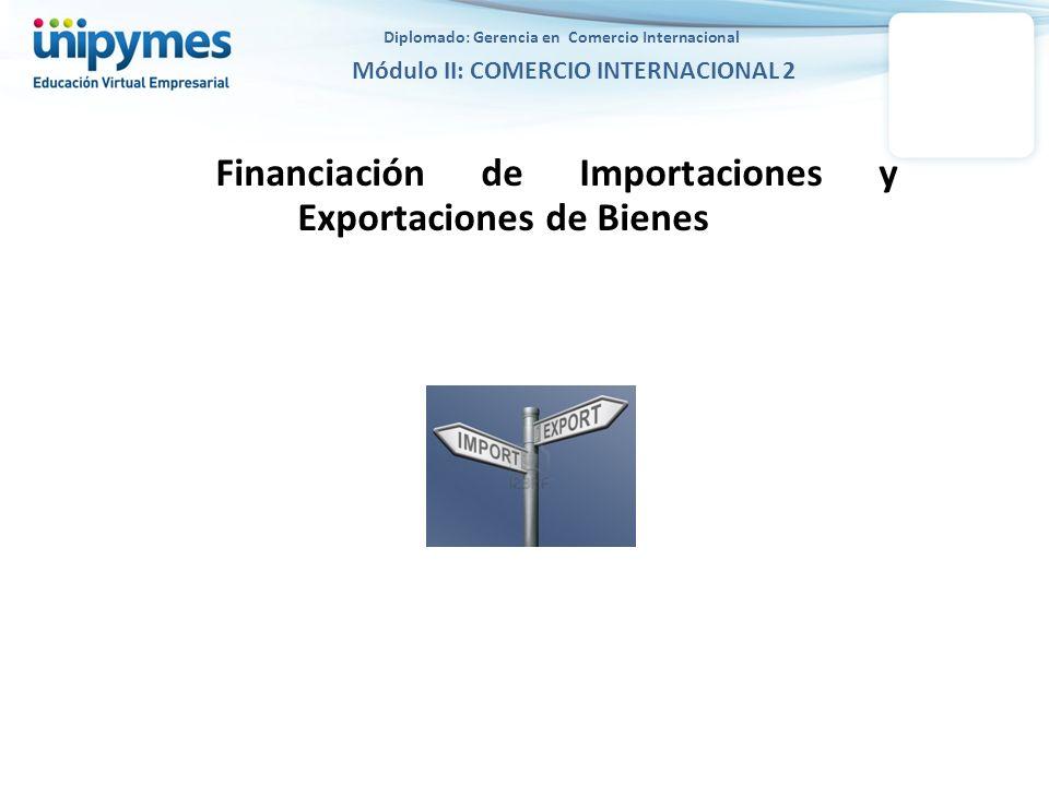 Financiación de Importaciones y Exportaciones de Bienes