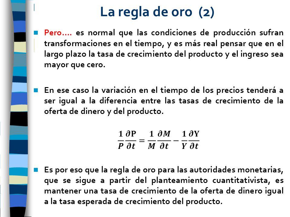 La regla de oro (2)