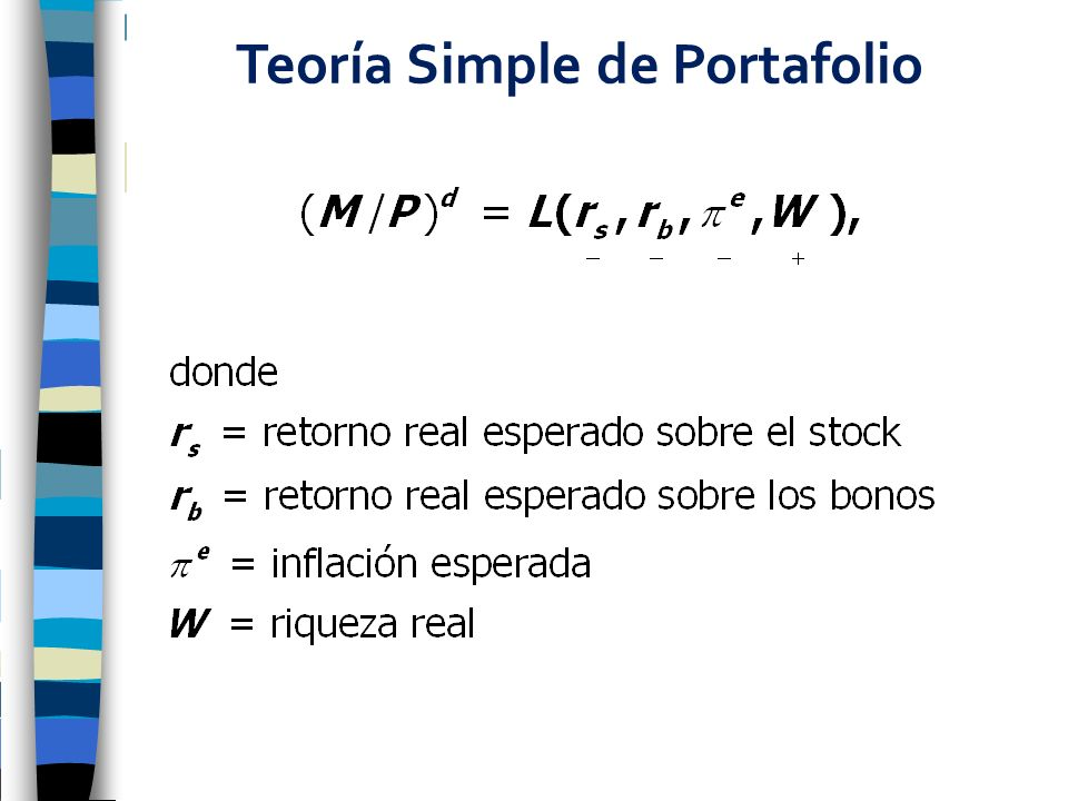 Teoría Simple de Portafolio
