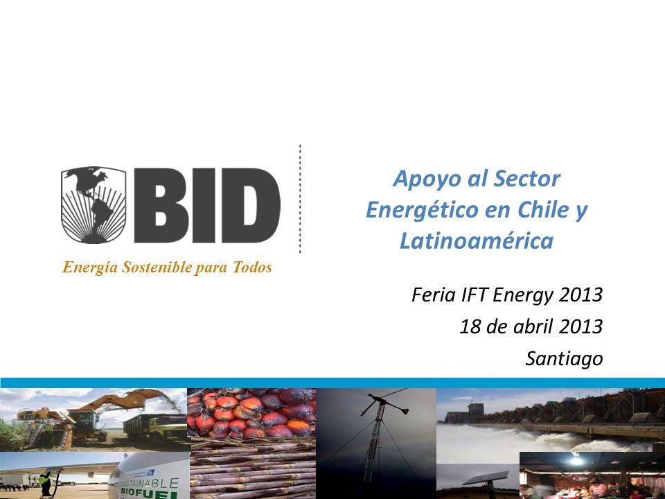 Apoyo al Sector Energético en Chile y Latinoamérica