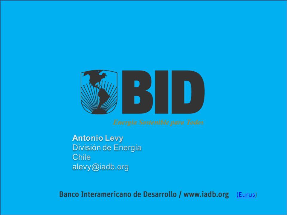 Fin Antonio Levy División de Energía Chile alevy@iadb.org