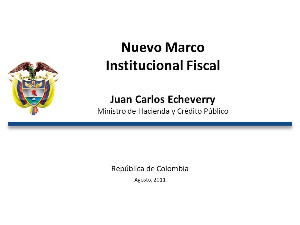 Ministro de Hacienda y Crédito Público