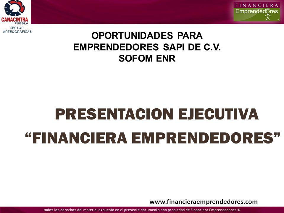 OPORTUNIDADES PARA EMPRENDEDORES SAPI DE C.V. SOFOM ENR