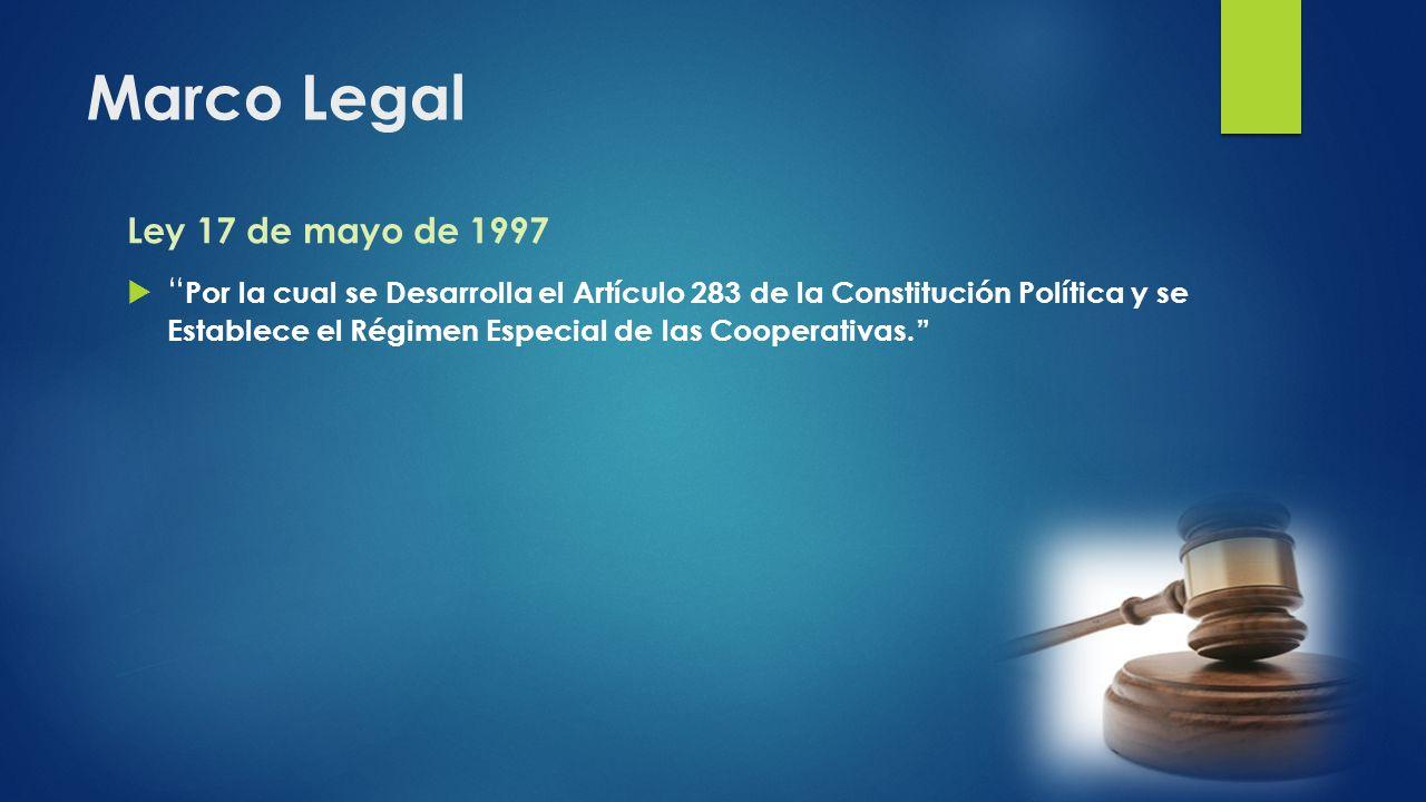 Marco Legal Ley 17 de mayo de 1997