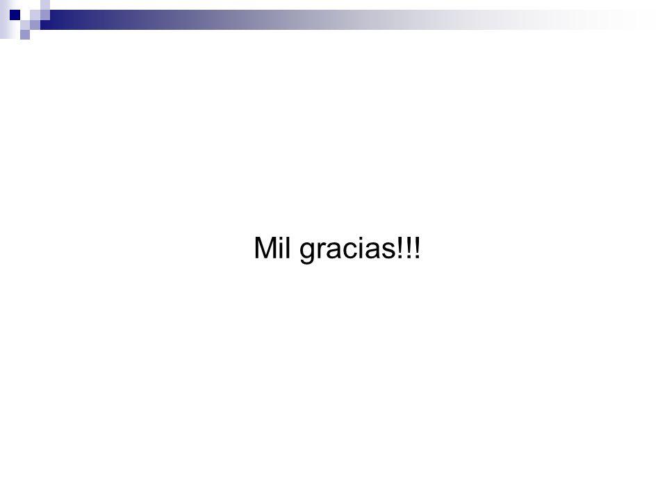 Mil gracias!!!
