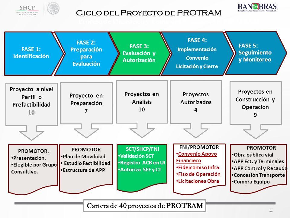 Ciclo del Proyecto de PROTRAM
