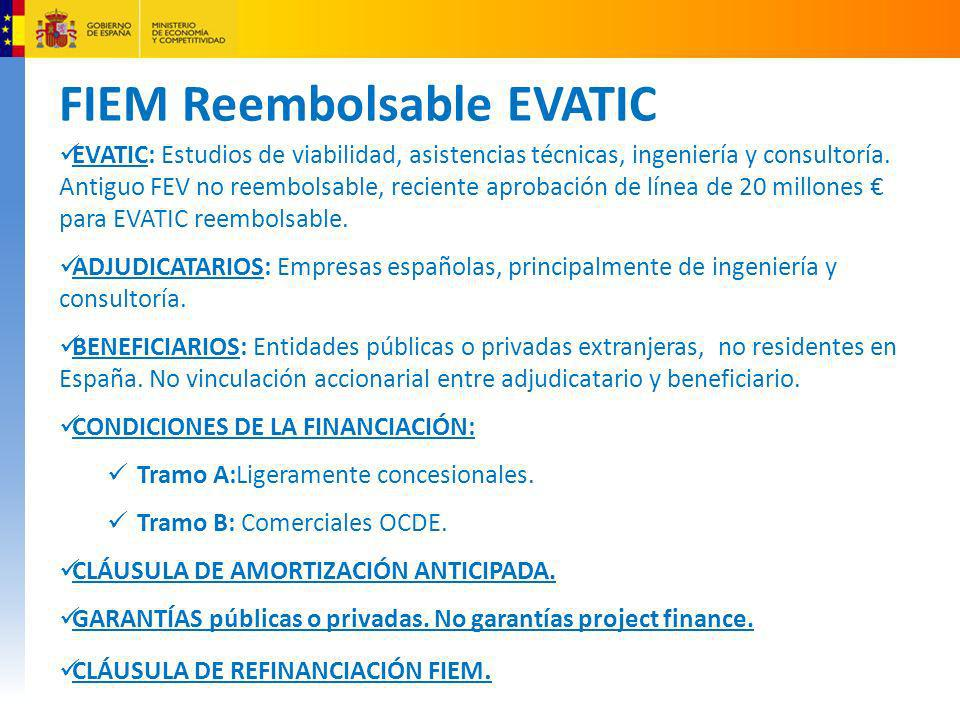 FIEM Reembolsable EVATIC