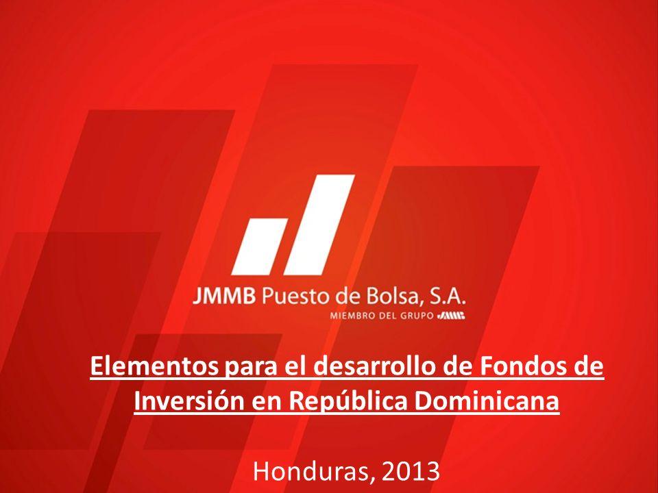 Elementos para el desarrollo de Fondos de Inversión en República Dominicana