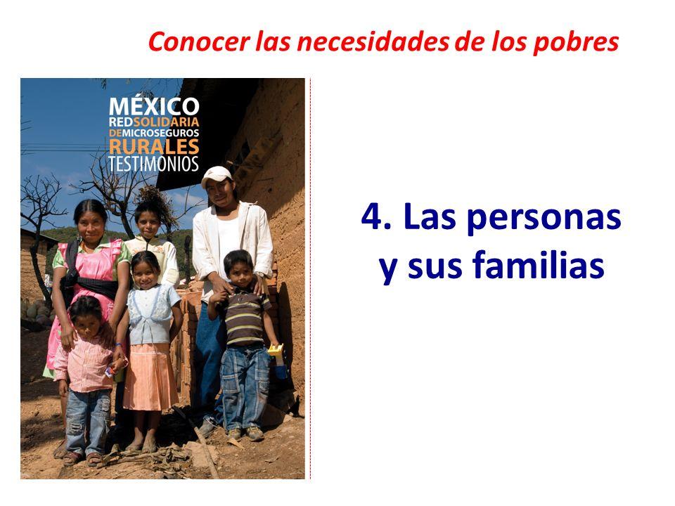 4. Las personas y sus familias