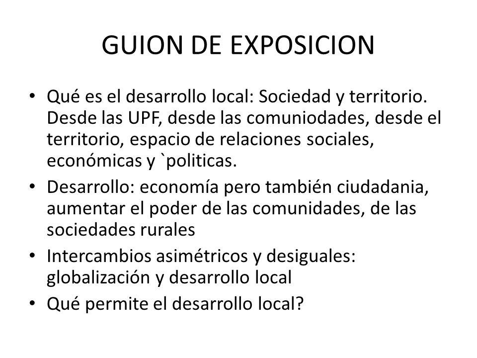 GUION DE EXPOSICION
