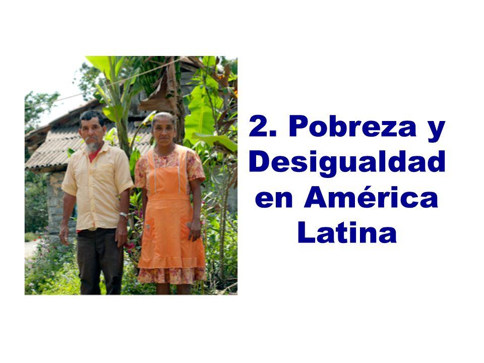 2. Pobreza y Desigualdad en América Latina