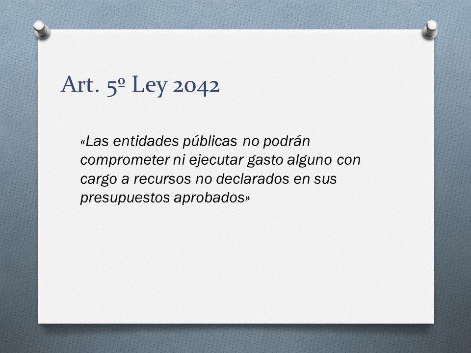 Art. 5º Ley 2042