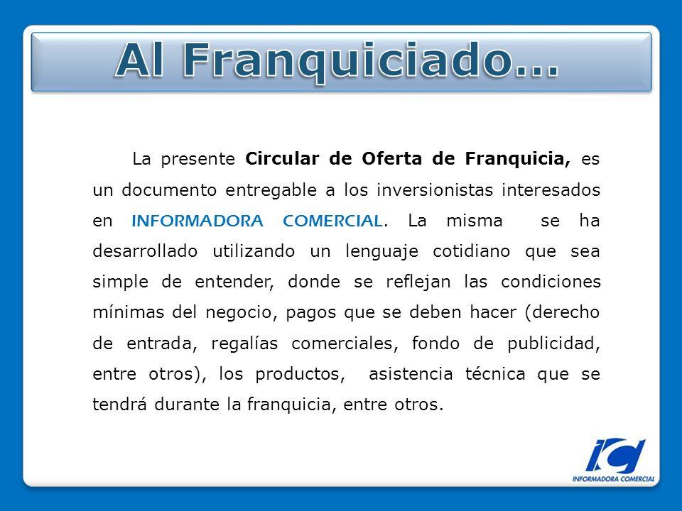 Al Franquiciado…