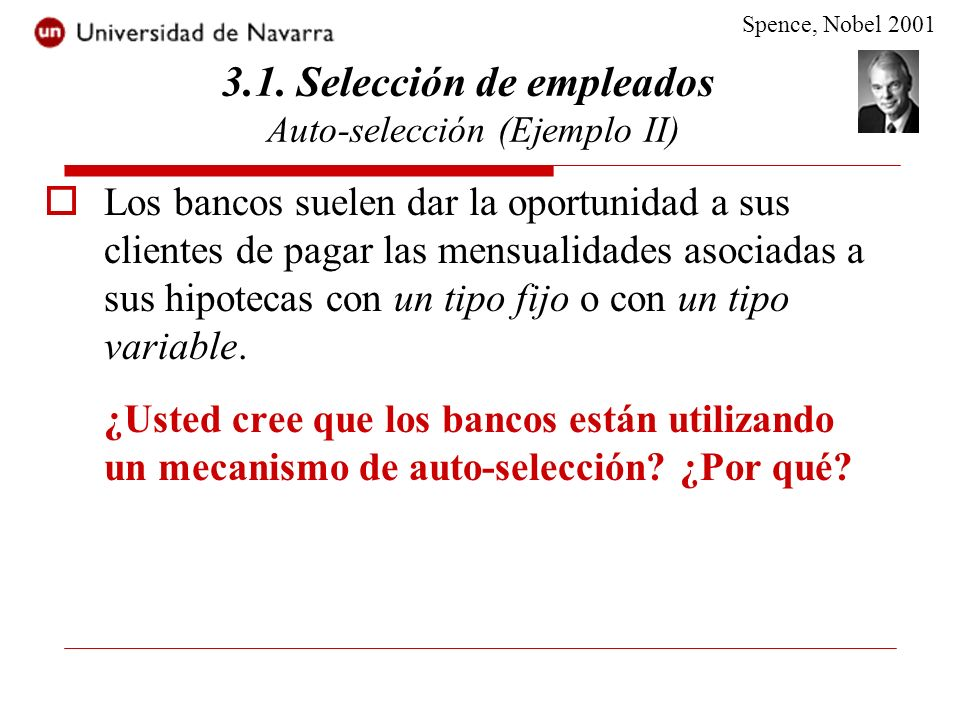 3.1. Selección de empleados Auto-selección (Ejemplo II)