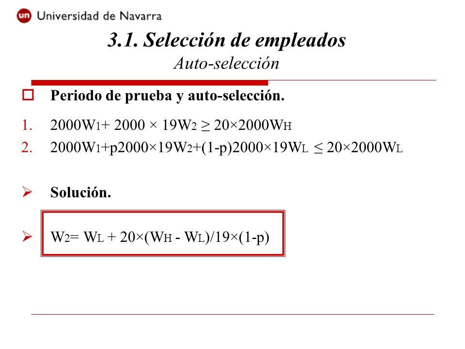 3.1. Selección de empleados Auto-selección