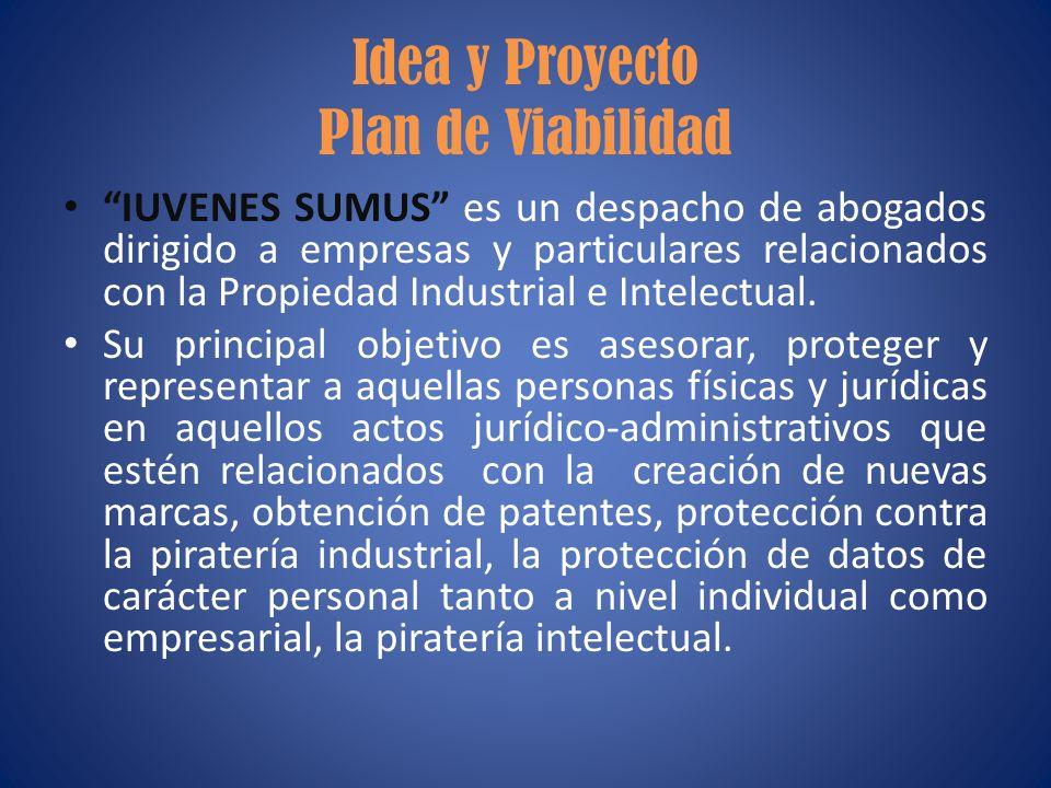 Idea y Proyecto Plan de Viabilidad