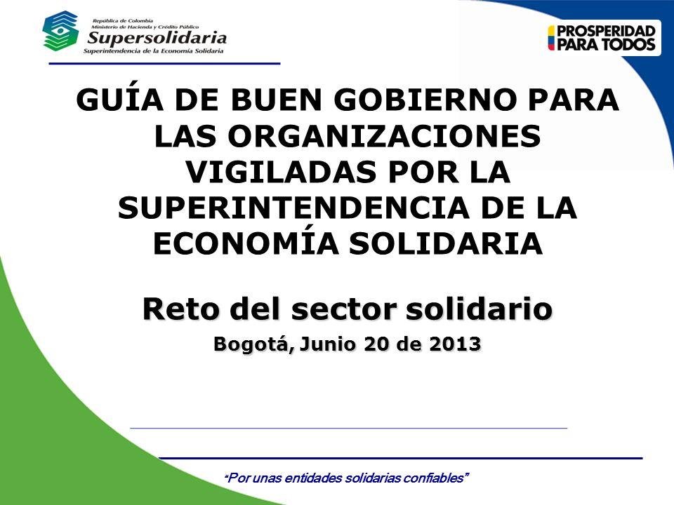 Reto del sector solidario