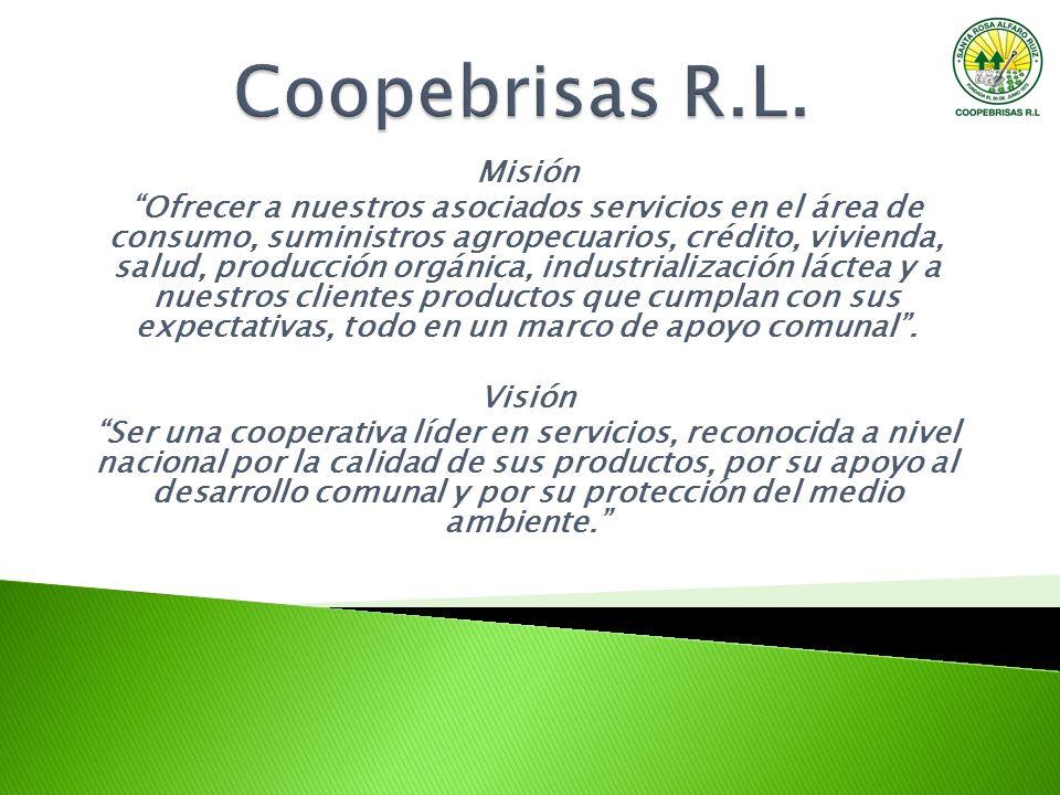 Coopebrisas R.L. Misión.