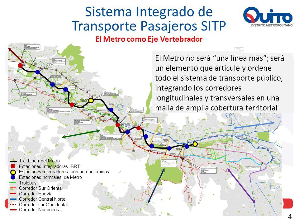 El Metro como Eje Vertebrador
