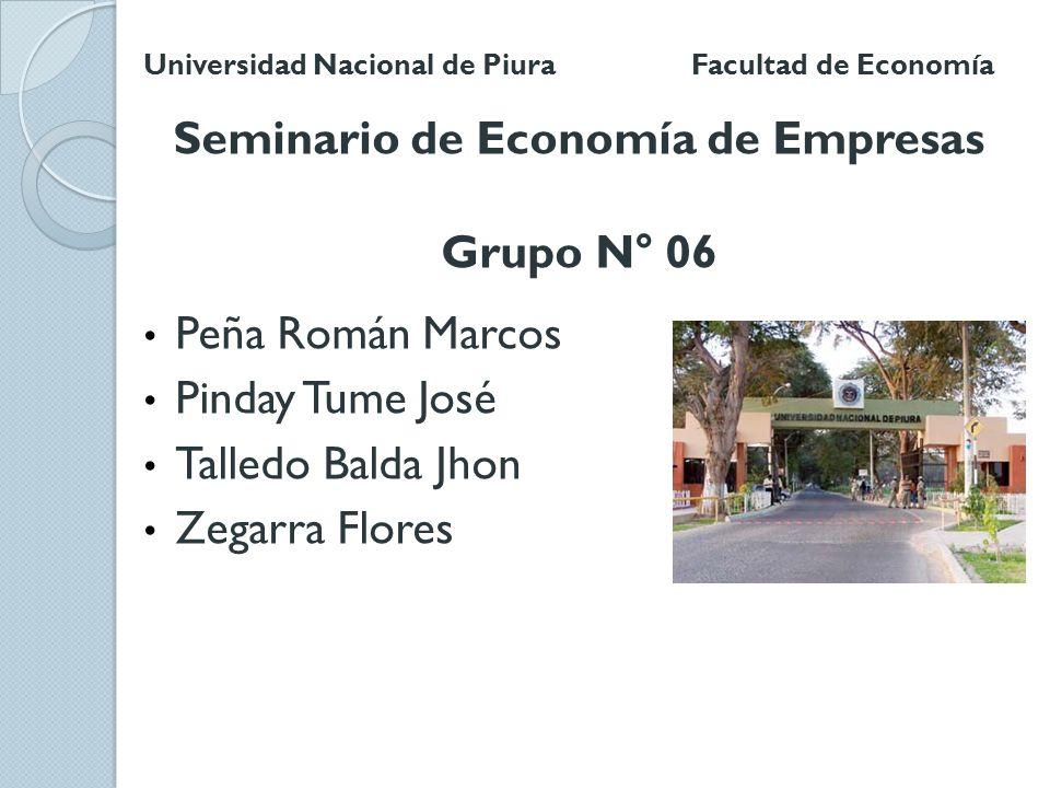 Seminario de Economía de Empresas