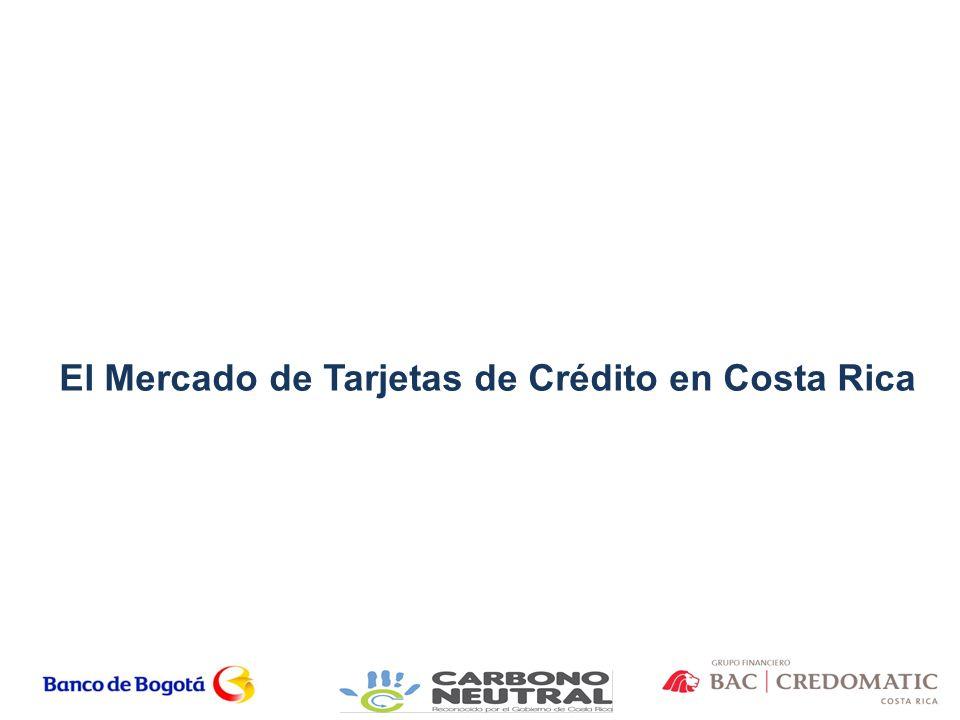 El Mercado de Tarjetas de Crédito en Costa Rica