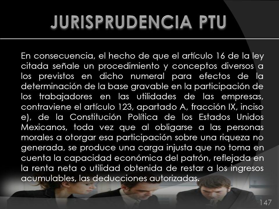 JURISPRUDENCIA PTU