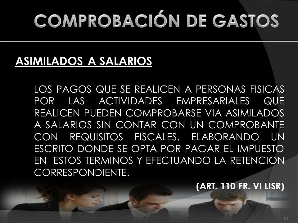 COMPROBACIÓN DE GASTOS