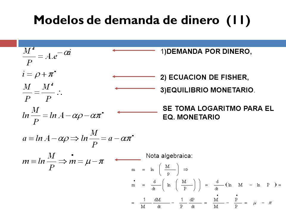 Modelos de demanda de dinero (11)