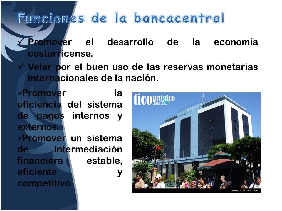 Funciones de la bancacentral