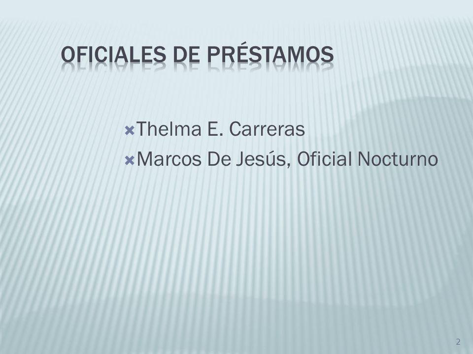 Oficiales de Préstamos