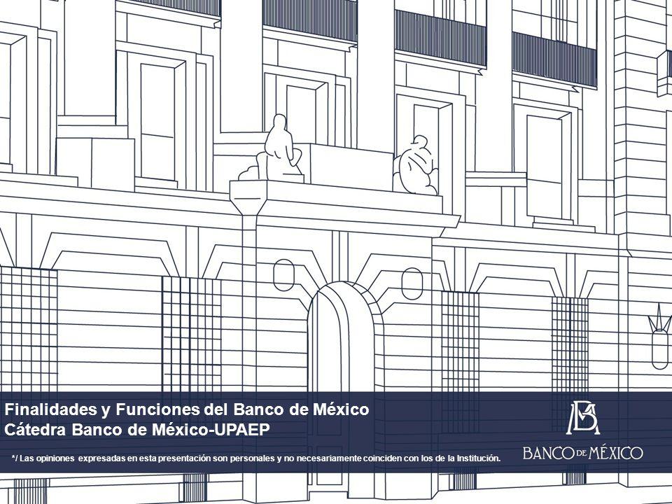 Finalidades y Funciones del Banco de México