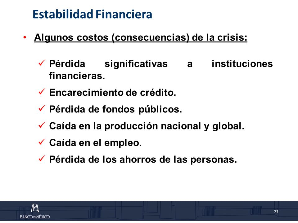 Estabilidad Financiera