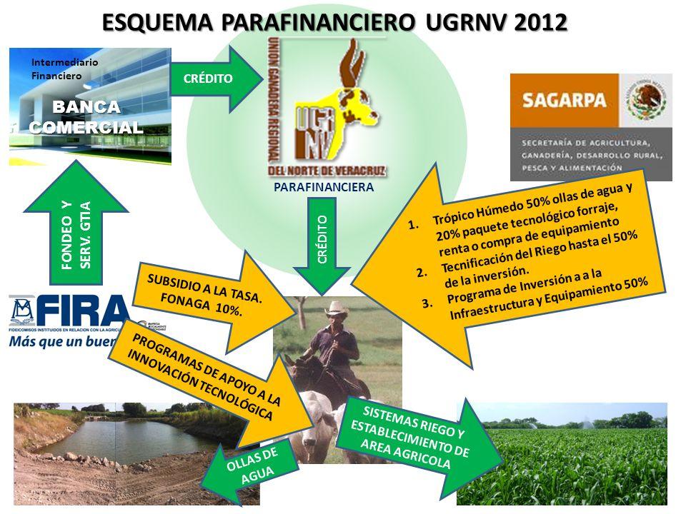 ESQUEMA PARAFINANCIERO UGRNV 2012