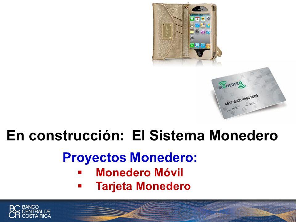 En construcción: El Sistema Monedero