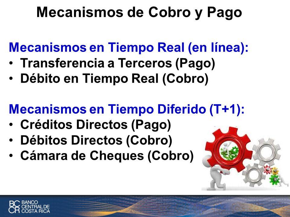 Mecanismos de Cobro y Pago