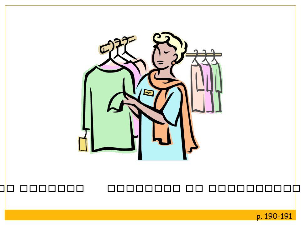 la clienta regatear la dependienta