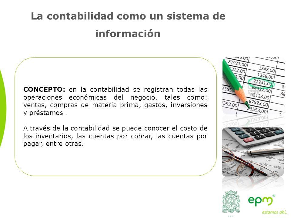 La contabilidad como un sistema de información