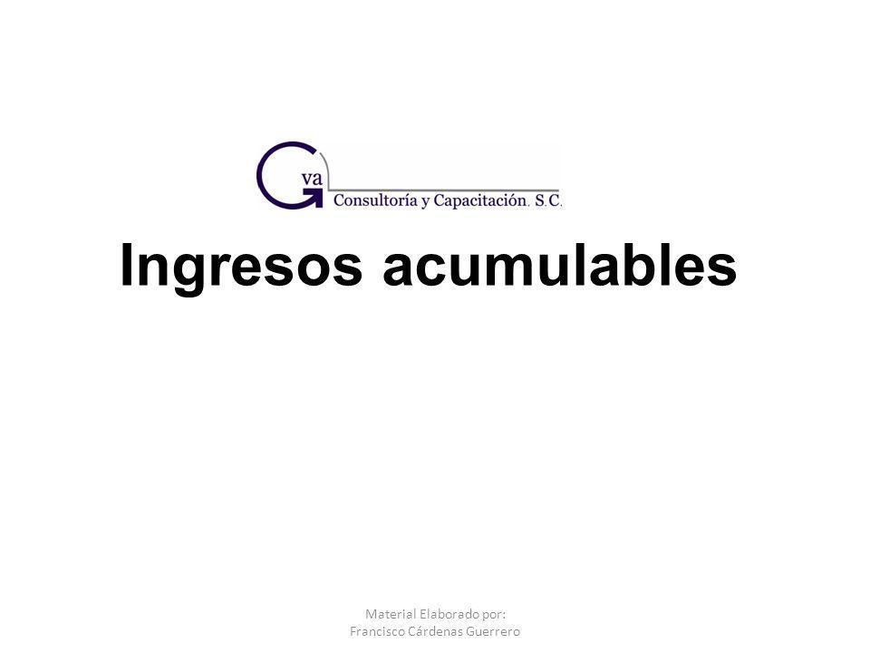 Material Elaborado por: Francisco Cárdenas Guerrero