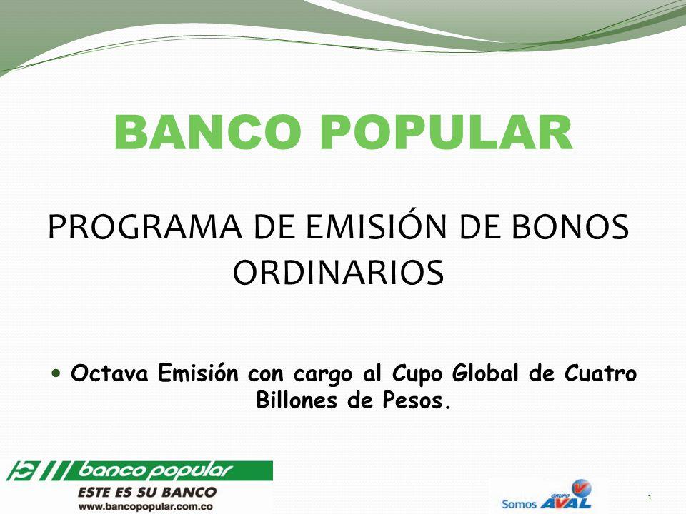 PROGRAMA DE EMISIÓN DE BONOS ORDINARIOS