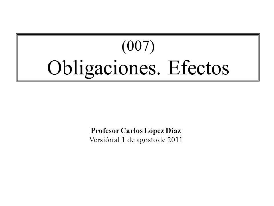 Profesor Carlos López Díaz