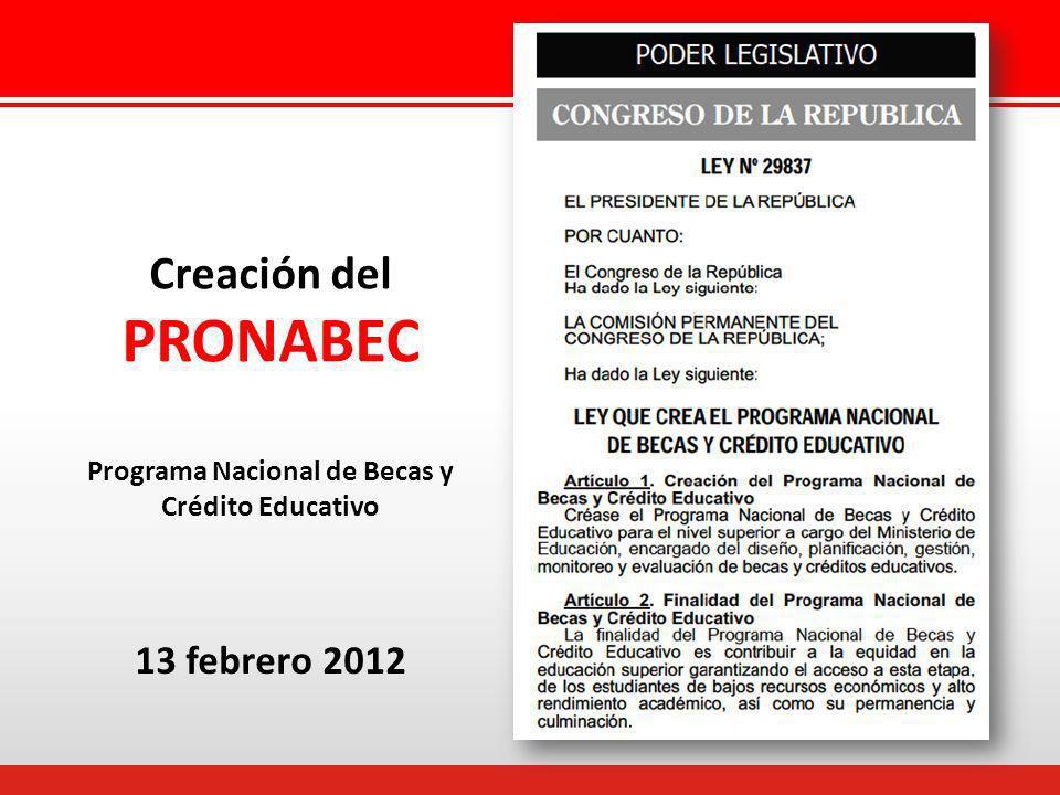Programa Nacional de Becas y Crédito Educativo
