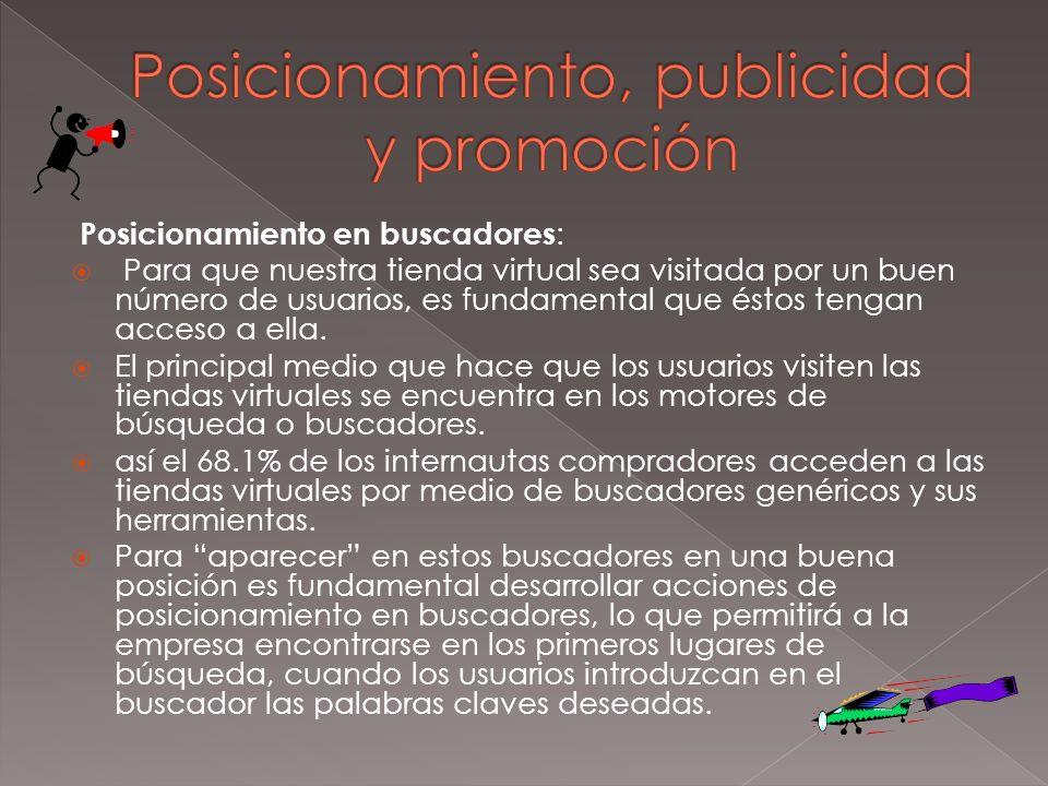 Posicionamiento, publicidad y promoción