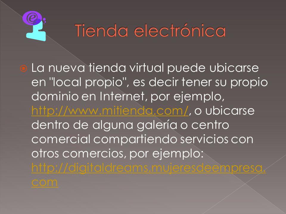 Tienda electrónica