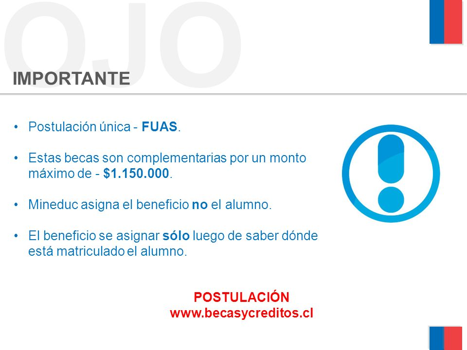 POSTULACIÓN www.becasycreditos.cl