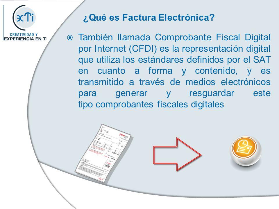 ¿Qué es Factura Electrónica