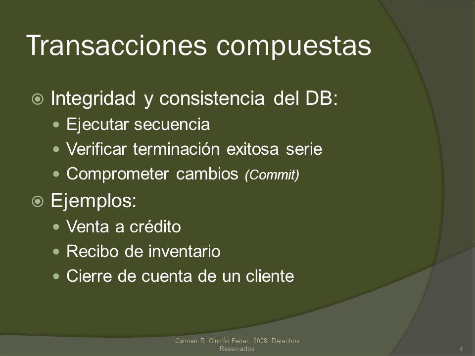 Transacciones compuestas