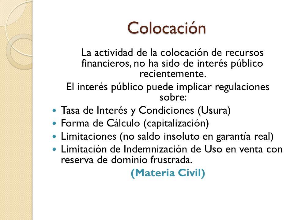El interés público puede implicar regulaciones sobre: