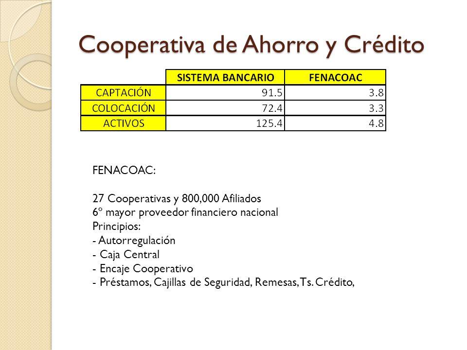 Cooperativa de Ahorro y Crédito